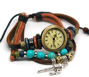 【おまけ有り】 アンティーク風 ブレスレット 腕時計 MONIKS(モニクス) オリジナル ギフトボックス セット