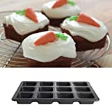 Lakeland My Kitchen Cook & Bake 12 Individual Squares Traybake Cake Tin