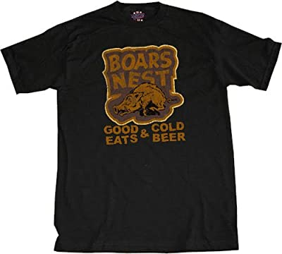 Dukes of Hazzard Boars Nest T-shirt Black