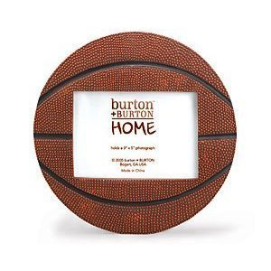 Basketball Shaped Picture Frame - Perfect for Sports Team Photo! (Basketball Frame compare prices)