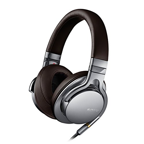 Sony MDR-1A Cuffie Over-ear, Audio Hi-Res, Argento
