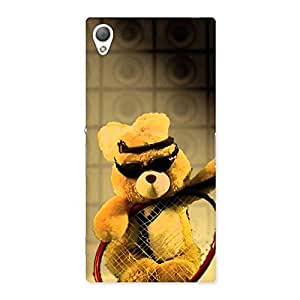 AJAYENTERPRISES Smart teddy With Googles Back Case Cover for Sony Xperia Z3