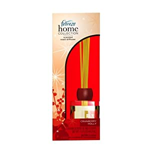 Febreze Home Collections Cranberry Pear Scented Reed Diffuser-Limited Edition, 1 Kit (Pack of 2)