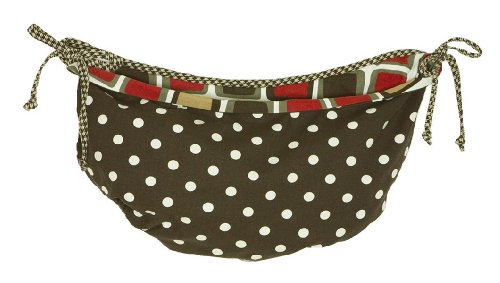 Cotton Tale Designs Houndstooth Toy Bag