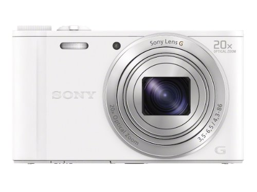 Best Deals! Sony WX350/W 18 MP Digital Camera (White)