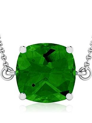 Art Of Diamond Collar Emerald White Gold