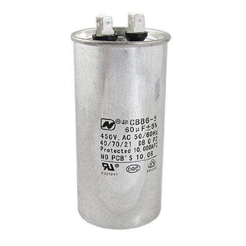 450VAC 60uF Air Conditioner Motor Capacitor CBB65