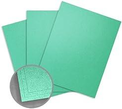 Elan Metallics Photon Green Paper - 12 x 12 in 70 lb Text Metallic C2S 250 per Package