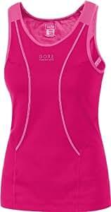 Gore Running Wear Women's Air 2.0 Singlet - Red/Hot Pink, Size 42
