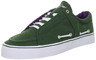 Creative Recreation Men's Luchese Sneaker,Emerald Purple White,8 M US