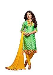 Vivacity Women's Cotton Unstitched Dress Material (Chillax-12_Multi_Free Size)