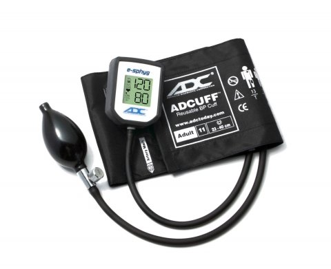 American Diagnostic Corporation 7002 Diagnostix e-sphyg Digital Aneroid Blood Pressure Black Sphygmomanometer by American Diagnostic