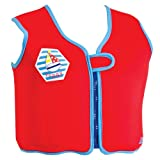 Zoggs Boy's Zoggy Learn to Swim Bobin Jacket - Blue, 4-5 Years