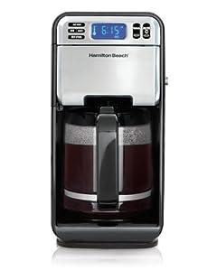 Hamilton Beach 46201 12 Cup Digital Coffeemaker, Stainless Steel
