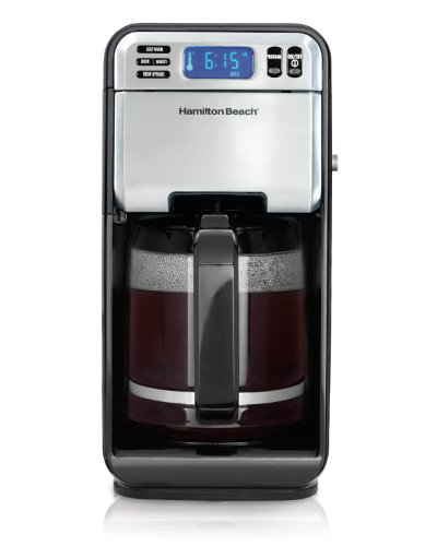 Why Choose Hamilton Beach 46201 12 Cup Digital Coffeemaker, Stainless Steel