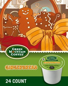Green Mountain Coffee Gingerbread K-Cups (24 count-Pack of 2),48 count (Gingerbread Coffee K Cup compare prices)