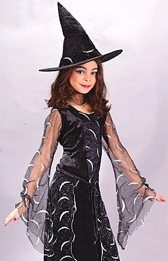 Kids Witch Sorceress Harry Potter Halloween Costume