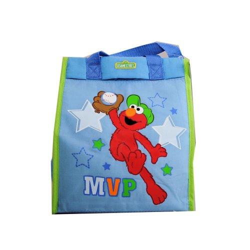 Sesame Street Elmo Baby Diaper Tote Bag - Blue - 1