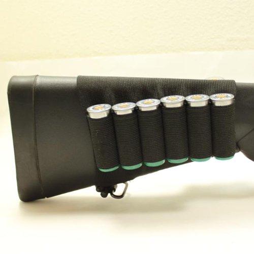 Why Choose Shotgun Shell Elastic Buttstock Holder Holds 8 Shells