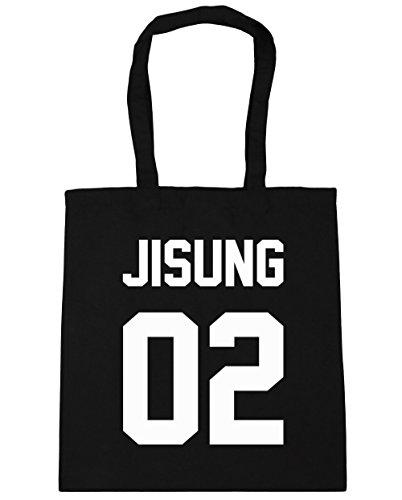 hippowarehouse-jisung-02-printed-on-the-back-tote-shopping-gym-beach-bag-42cm-x38cm-10-litres