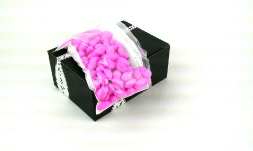 Jordan Almonds Pastel Pink, 1Lb Bag In A Gift Box front-525594