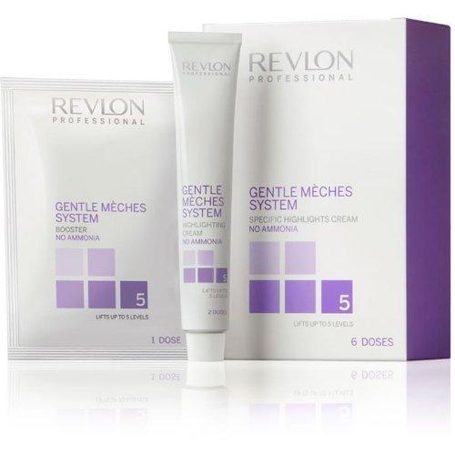 Revlon Professional Gentle Múãhes Highlighting cream ammonia-free Box of 6 Doses by Revlon Professional