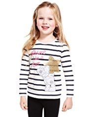 Pure Cotton Tatty Teddy Star T-Shirt
