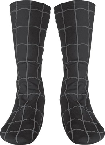 Adult Black Spider Man Costume Boot Covers