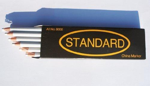 12-non-sharpening-wax-china-marker-pencil-white-colour-17cm