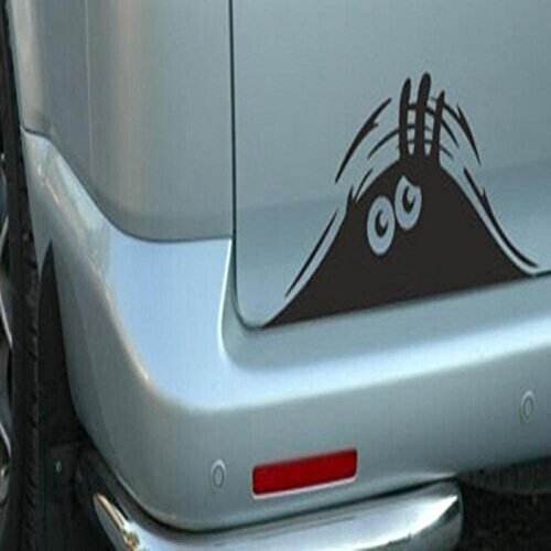 GD Fashion Funny Peeking Monster Auto Car Walls Windows Sticker Graphic Vinyl Car Decals Car Stickers Accessories