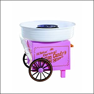 Nostalgia Electrics CCM-505 Vintage Collection Cotton Candy Maker