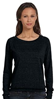 Alternative Women's Slouchy Pullover, Eco True Black, Medium