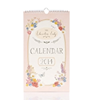 Edwardian Lady Slim 2014 Calendar