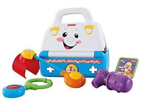 Fisher Price Laugh and Learn Sing a Song Med Doctor Kit Baby Toddler Toy - 1