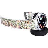 Samsung Gear S2 Band Getwow Samsung Smartwatch Replacement Band For Samsung Gear S2 Smart Watch SM-R720 Black-...