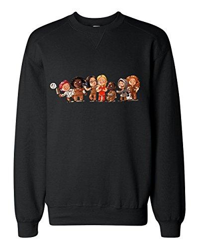 Orange Is the New Black Characters Art Classic Sweatshirt Medium