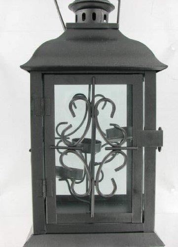 3 Tier Tealight Candle Decorative Metal Lantern by KIP