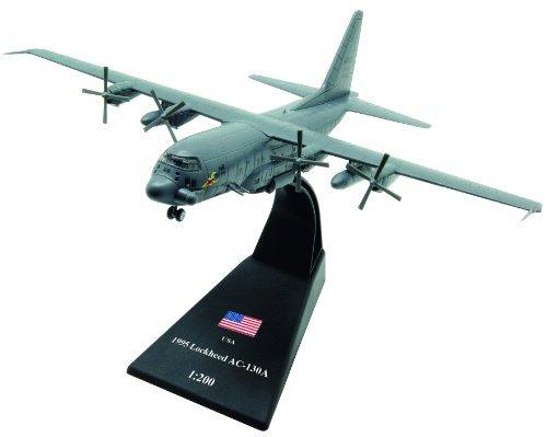 Lockheed AC-130 diecast 1:200 model (Amercom LB-17) (Ac 130 Gunship Model compare prices)
