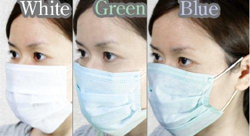 6/10発送分 豚インフルエンザ来襲!! 医療用マスク 使い捨て新種のウィルス対策 3層構造の優れもの サージカルマスク 50枚入り