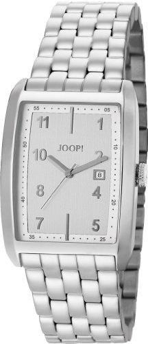 Joop  Transcendence  Swiss Made - Reloj de cuarzo para hombre, con correa de acero inoxidable, color plateado