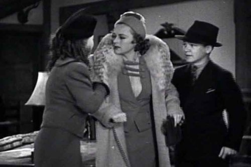 Lady Behave! Starring Sally Eilers and two kids