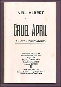 Cruel April: A Dave Garrett Mystery