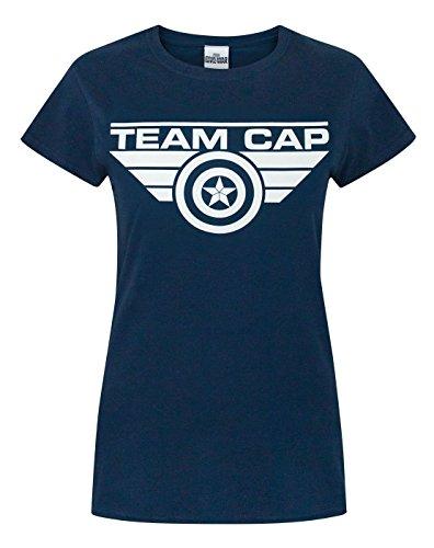 Donne - Vanilla Underground - Captain America Civil War - T-Shirt (S)