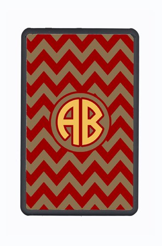 Chevron Garnet And Gold For Florida State Custom Kindle Fire Snap On Case From Caroline'S Treasures front-258992