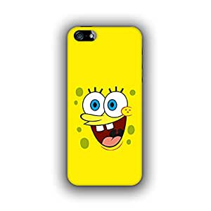 Caseque (Pro) Witty SpongeBob Back Cover For Apple iPhone 5S
