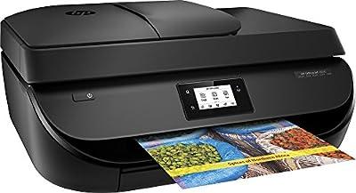 HP - OfficeJet 4650 Wireless All-In-One Printer - Black