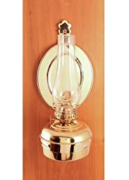 Hanging Oil Lamp Brass 10\
