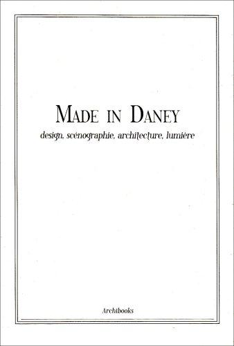 Livre made in daney design sc nographie architecture lumi re - Architecture bioclimatique definition ...