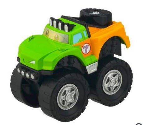 Tonka Chuck & Friends Flash The Race Truck Twist Trax - 1