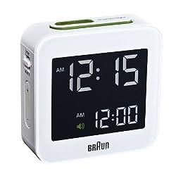 Braun Digital Travel Alarm Clock